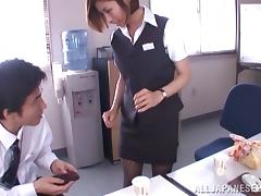 Mom and Boy, Adorable, Asian, Ass, Beauty, Blowjob