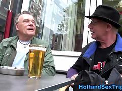 Amateur euro prozzie fingered tube porn video