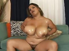 Rough sex with the busty and chubby Lady Spice