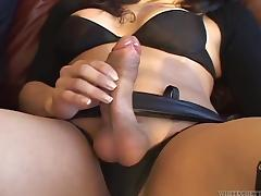 Cute Adriana D Fucks A Guy's Ass After Sucking His Cock