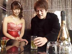 Glorious Asian Babe Goes Hardcore With A Drunk Man