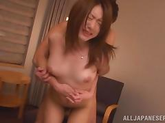 Gagged Asian MILF gets fingered and fucked rough tube porn video