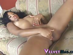 Stacey Cash fingers her wet pussy as you bust a nut
