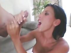 LEZLEY ZEN Cumshots Compilation porn tube video