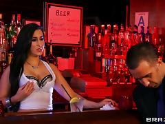 Valerie Kay gets her cunt unforgettably fucked in a bar