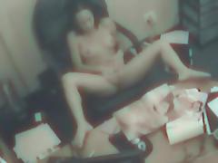 Hidden cam shows us some masturbation skills