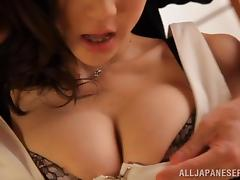 Stunning Ki Haniyuu gets her hot pussy licked and fucked
