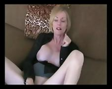 Masturbation Instructed by NOT Her Stepmother BVR