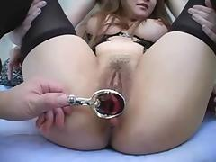 Asian Babe gets Masturbated and Facilized