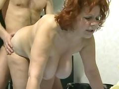 Mature and young cock 85
