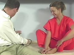Hot Patient Gets Examined And Fucked By A Nasty Doctor