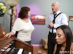 Gianna Nicole is fucked silly by her lucky piano instructor tube porn video