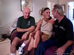 Amateur Wife Fucked Next To Her Cuckold Husband