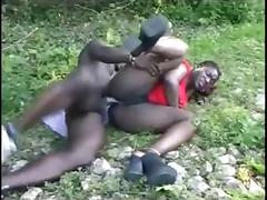 Anal, African, Anal, Black, Couple, Ebony