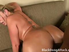 Sara Jay takes a really big black cock
