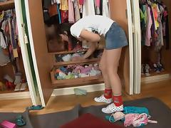 Changing Room, Blowjob, Reality, Teen, Changing Room, Dressing Room