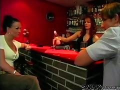 Guy Fucks a Drunk Chick Doggystyle at a Bar