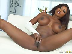 Hot interracial sex scene featuring Diamond Jackson and Manuel Ferrara tube porn video