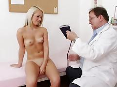 Doctor, Blonde, Close Up, Doctor, Monster, Small Tits