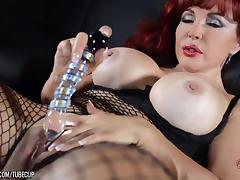 Sexy Vanessa in her Black Outfit tube porn video