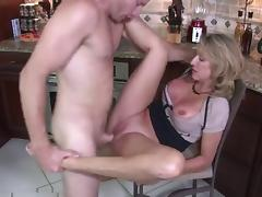 Whore-mom with big boobs & guy porn tube video