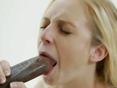 Taylor Whyte first encounter with huge black dick