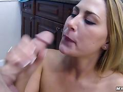 Incredible Blonde Goes Really Hardcore In A POV Video