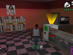 GTA SA - The Porno Shop (Jada Fire DVDs)