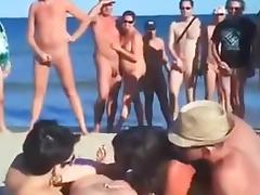Beach Voyeur - two couples fuck on beach.