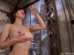 Shiori Ihara favours a man with grinding in hardcore sex clip