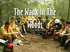 Wank in the Woods porn tube video