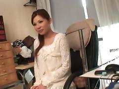 Marika Hot Japanese chick enjoys lots of sex