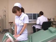 Mika Kayama Obscene Asian nurse is horny Asian chick tube porn video