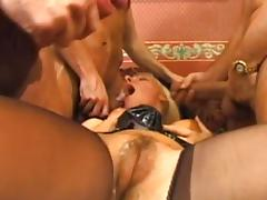Awesome blonde is being fucked in her anal