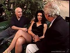 Catherine Count gets banged in the presence of two old men porn tube video