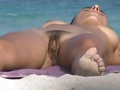 Nude, Beach, Nude, Undressing, Voyeur