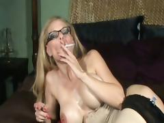 Cougar, Amateur, Cougar, Masturbation, Mature, Smoking