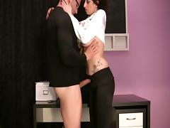 Trinity-Productions: Panty Wiht Blouse Bj
