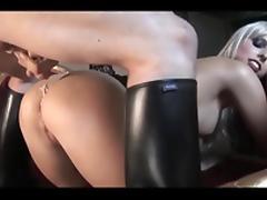Kinky ladies, leather & hard cocks #7