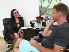 A Vivacious Cougar With Big Tits Enjoying A Mind-Blowing Doggy Style Fuck