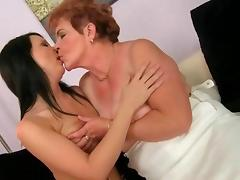 Grannies and Teens star in a Nasty Lez Compilation tube porn video