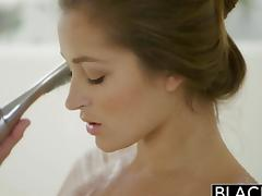 BLACKED Dani Daniels vs Two Huge BBC! tube porn video