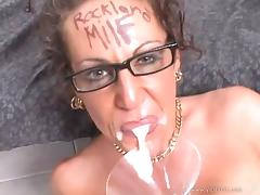 Nasty MILF With A Cum Fetish Gets The Big Facial She Wanted tube porn video