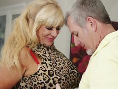 Granny Big Tits, Big Tits, Blonde, Boobs, Mature, Old