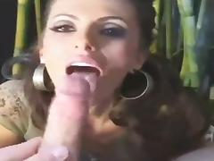 Spanish-American Chick Can't Live Without her Bamboo porn tube video