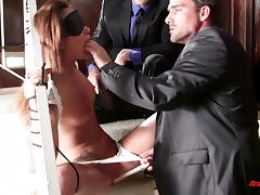 Wonderful Alina Li, Ramon Nomar And Toni Ribas Have A Threesome