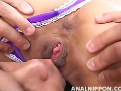 Saku Momona Naughty Asian MILF Gets Fucked Anally