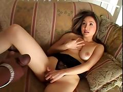 Busty Asian Beauty Gets A Hardcore Interracial Fuck tube porn video