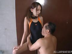 Bound, Asian, BDSM, Bikini, Blowjob, Bondage