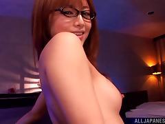 Exquisite Akiho Yoshizaw Goes Hardcore In A POV Video